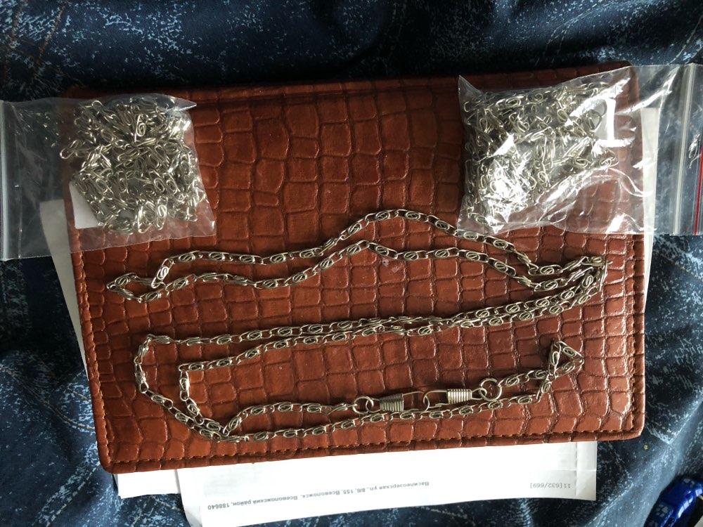 THINKTHENDO Vervanging Nieuwe metalen portemonnee Chain Strap handvat Tas Accessoires Schoudertas Crossbody handtas photo review
