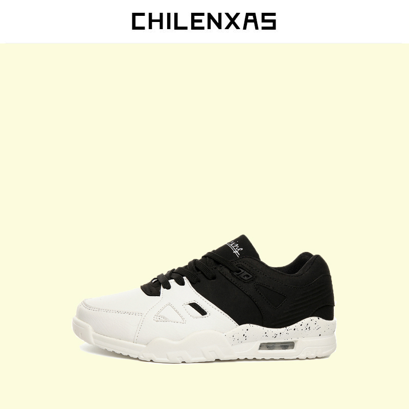 CHILENXAS 2017 Leather Men Casual Shoes Style Flats Breathable Height Increasing New Fashion Lace-up Solid Spring Autumn Light 2017 new spring autumn men casual shoes breathable black high top lace up canvas shoes espadrilles fashion white men s flats