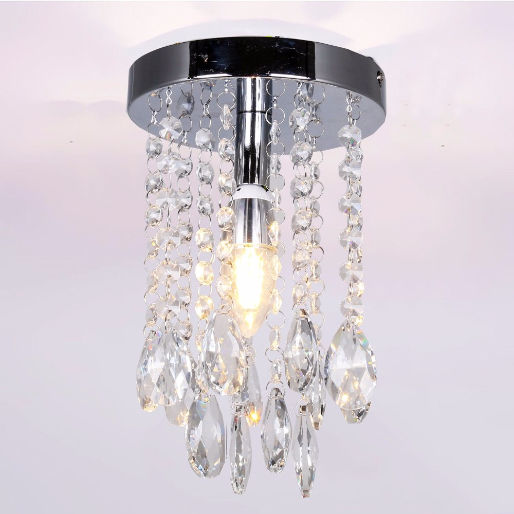 Modern lustre LED crystal chandelier crystal lamp Mini AC110-260V Chandelier Lighting Fixture Pendant Ceiling Lamp Crystal цена