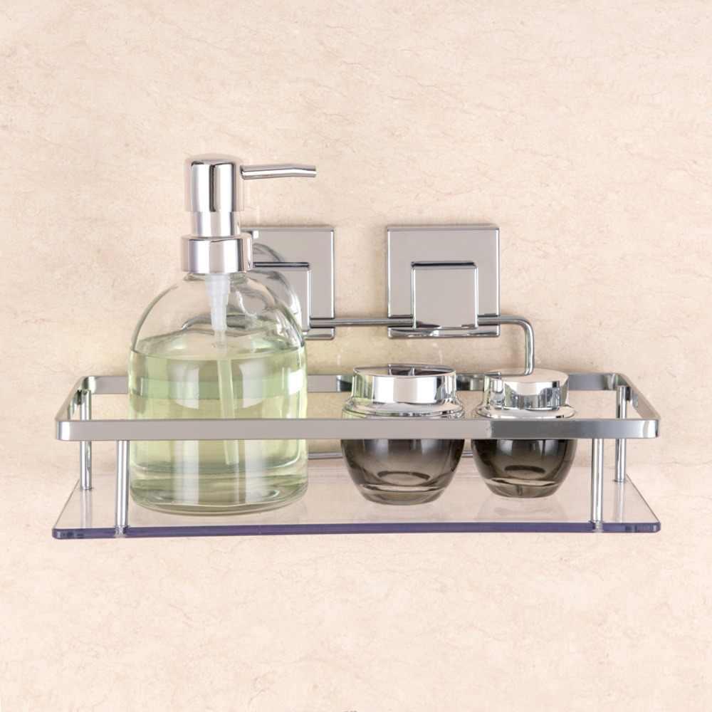 Всасывания Термосумка для термосов полка Шампунь Душ ванная, туалет, кухня настенный держатель корзина пластик прозрачные аксессуары