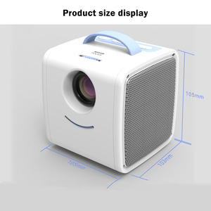 Image 4 - WZATCO Q2 MINI Portable Projector 700 Lumens HDMI Children Kids story Projector High end Electronic Gifts LED Home Beamer