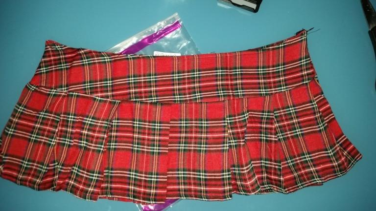 c8bc575ca 35 reviews for Ekouaer Hot Sale Cosplay Sexy Women Plaid Tutu Pleated Sexy  Schoolgirl Skirt