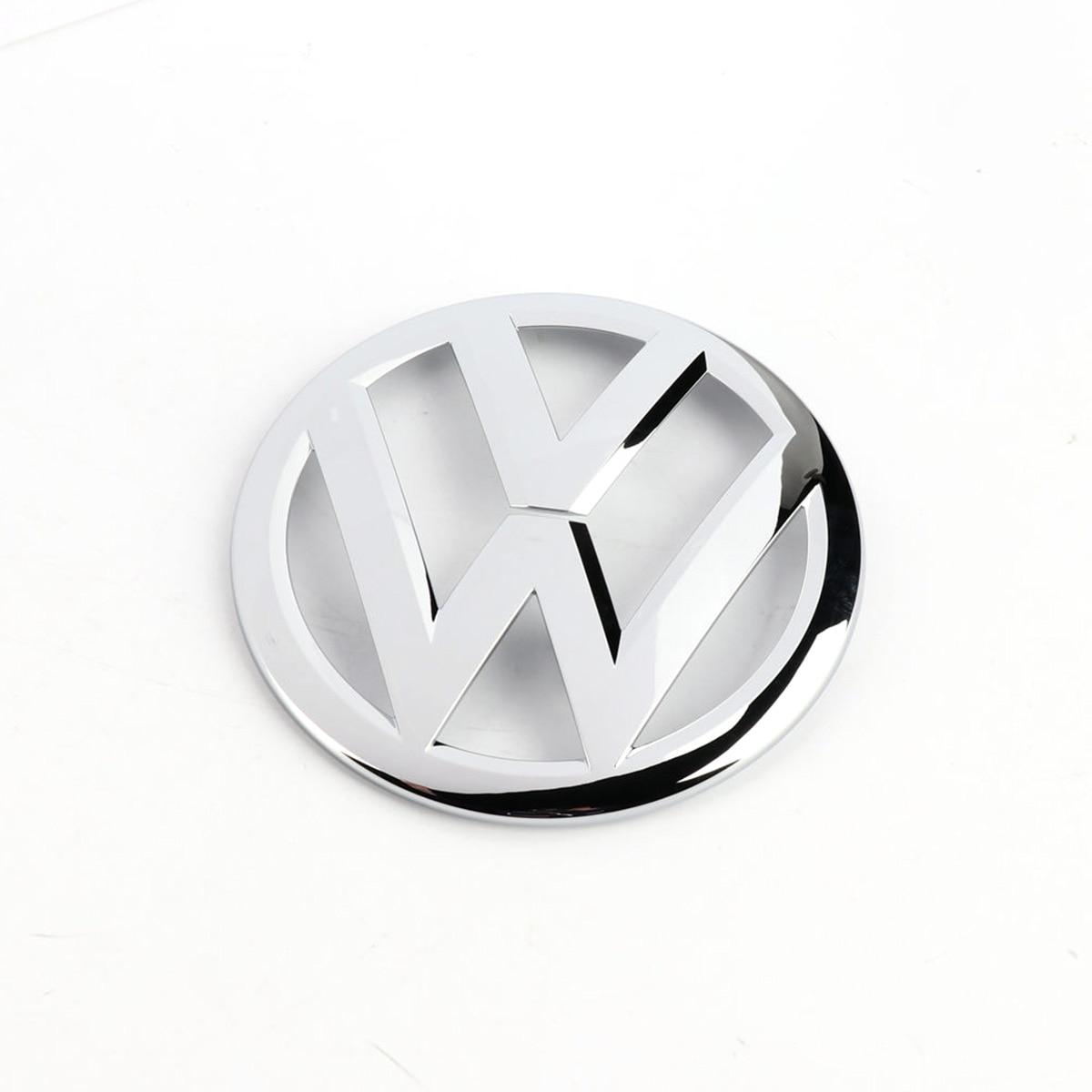 OEM Front Center Grille Chrome Emblem Badge Logo Grill Decal Fit for VW Golf MK7 VII