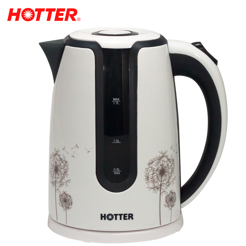 HOTTER HX-9016 Electric kettle folding Constant Temperature Control Electric Water Kettle 1,7L Thermal Insulation teapot a hot plate temperature control switch electric film electric kang kang electric heating thermostat silent scr