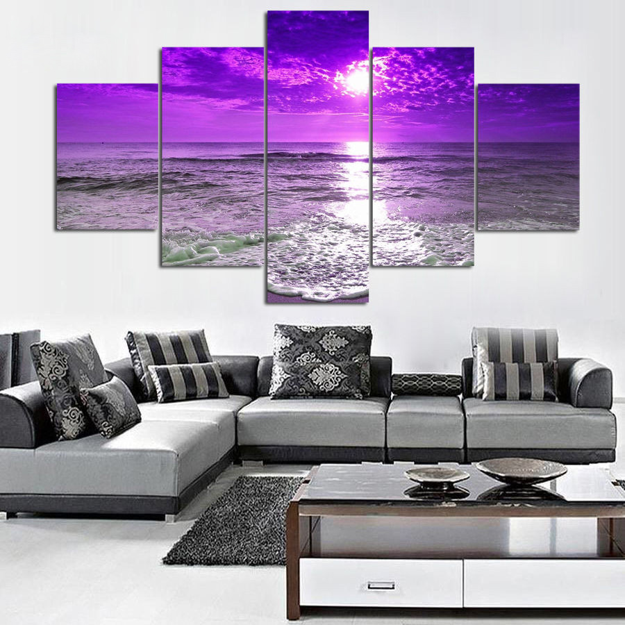 GRKDPKJ 5d diamond painting full drill square diamond embroidery Cross stitch pictures of rhinestones 5pcs Landscape of the seaGRKDPKJ 5d diamond painting full drill square diamond embroidery Cross stitch pictures of rhinestones 5pcs Landscape of the sea