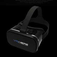 3D VR Headset Box Virtual Reality Glasses Super VR Glasses+Remote  3D Imax Video Movie Game Eyewear for Phone 3D Viewer VR Here ugp u8 vr glasses 3d headset version imax virtual reality helmet 3d movie games with headphone 3d vr glasses optional controller