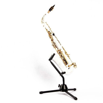 Lightweight Tubular Folding Saxophone Stand Tripod Holder Alto Sax Rack Saxophone Parts & Accessories