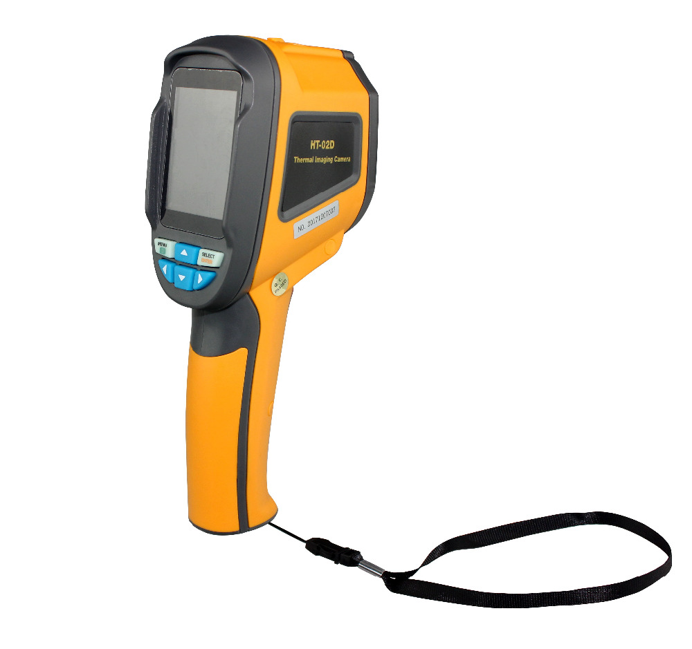 Newest HT 02D Color Screen Handheld Thermal Imager Infrared Thermal Camera 1024P 32x32