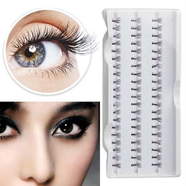 cab2f9ae8dc 8/10/12/mm Makeup Individual Cluster Eyelashes False Eye Lashes Extension  Long