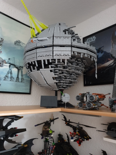 LEPIN 05026 Star Wars The 10143 Second Generation Death Star Block Set (3449Pcs) photo review