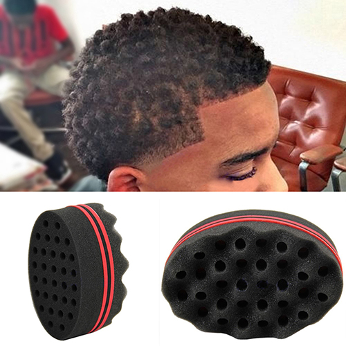 sponge brush. double sided barber hair brush sponge for dreads locking twist curl coil tool -in underwear from mother \u0026 kids on aliexpress.com | alibaba group