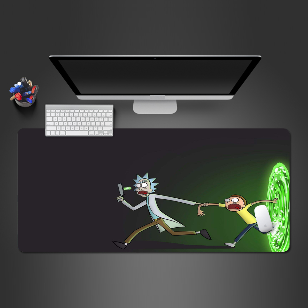 Rick And Morty Mouse Pad Professional Players Mat Non-slip Rubber