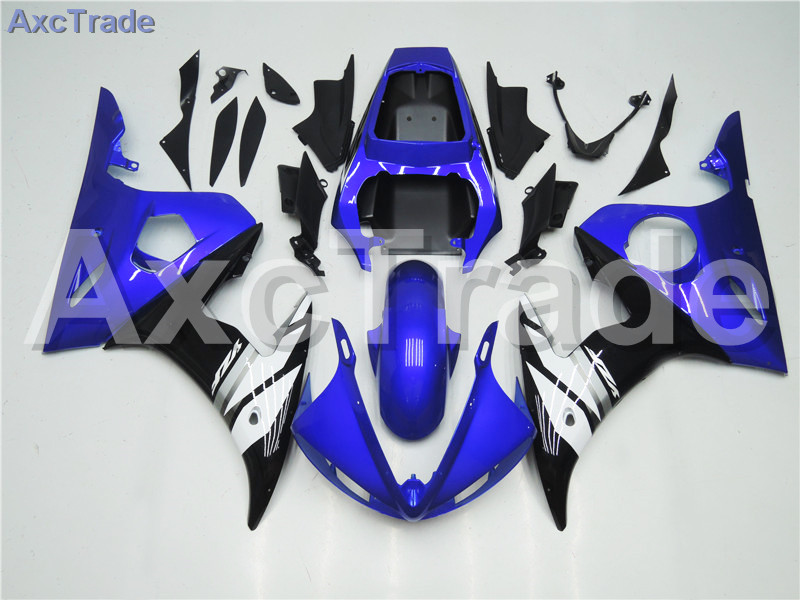 Motorcycle Fairings Kits For Yamaha YZF600 YZF 600 R6 YZF-R6 2003 2004 03 04 ABS Injection Fairing Bodywork Kit Blue White A385