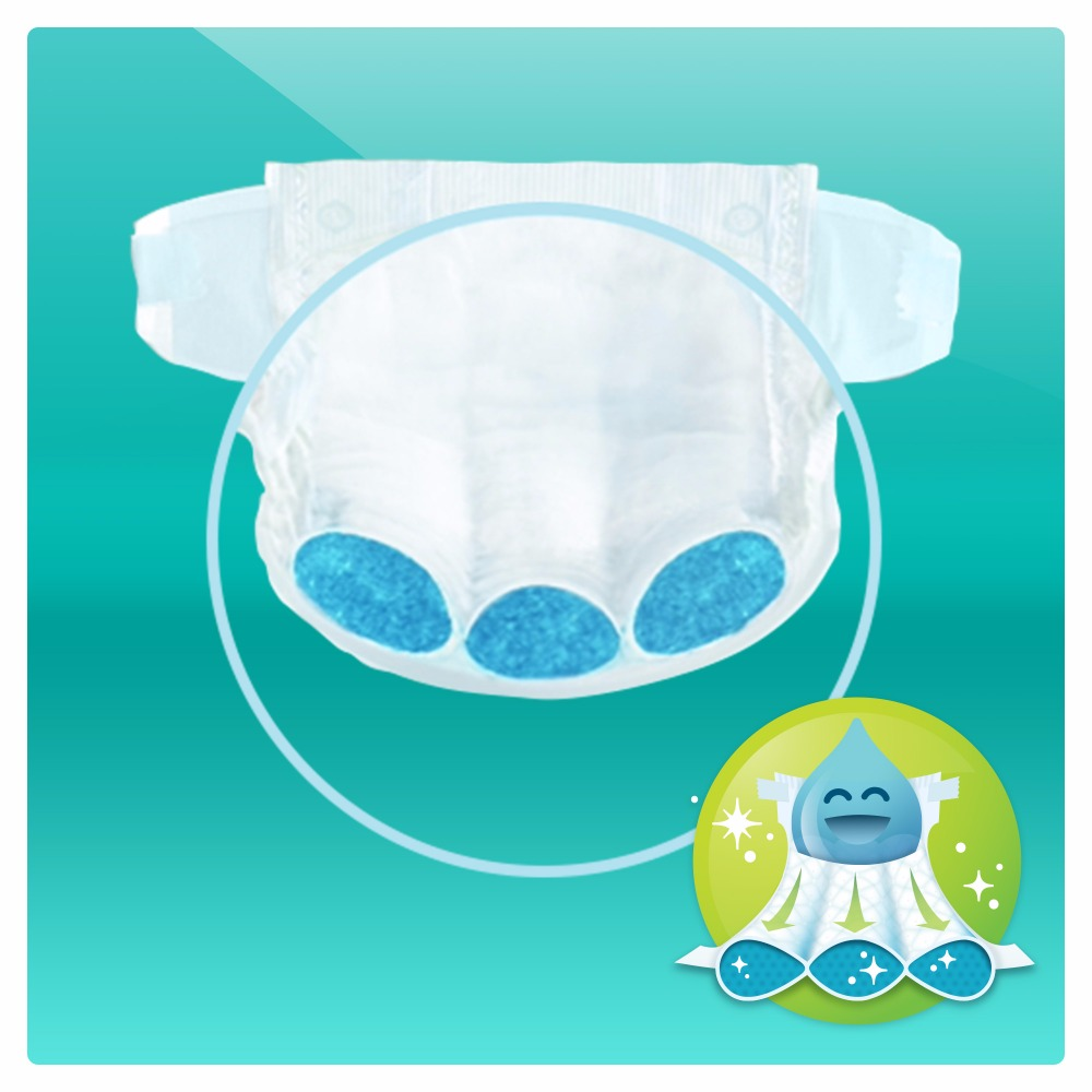 Diapers Pampers Active Baby-Dry 8-14 kg, size 4, 174 pieces.