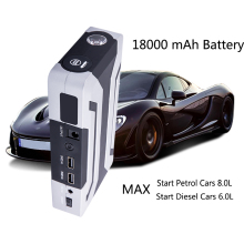 HAMBAR 1200A Peak Car Jump Starter for Petrol 8.0L Diesel 6.0L Car Charger Start Jumper Emergency Car Battery Booster