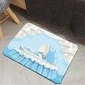 Else/белый  синий  милый детский коврик для маленьких мальчиков с 3d рисунком  Противоскользящий коврик для дома  декор для детской комнаты
