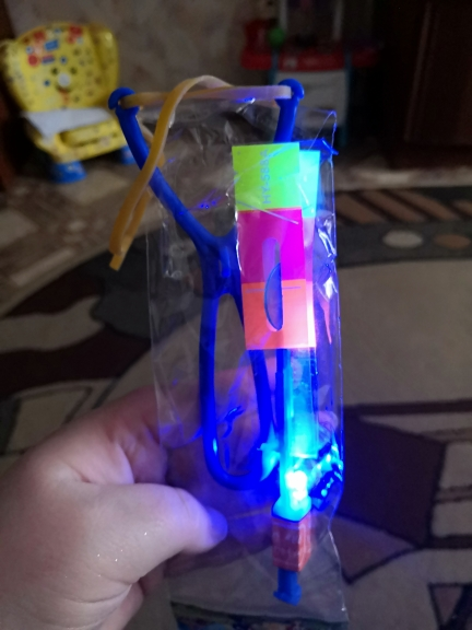 пластиковые ракеты; LED отражатель; детектор пожара;