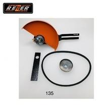 Резак-приставка REZER к бензопиле (180 мм) для Hus 135