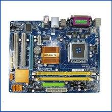 Carte mère G31 originale pour Gigabyte GA G31M ES2C G31M ES2C DDR2 LGA775, à létat solide, G31M ES2C cartes de bureau intégrées