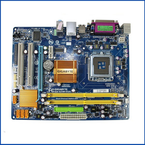 Image 1 - Placa mãe g31 original para gigabyte GA G31M ES2C G31M ES2C, ddr2 lga775, placa de mesa integrada G31M ES2C