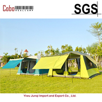 WeatherMaster 10 Person 2 Room Family Outdoor Tent Double Layers Cabin Shelter Hiking Camping Tent