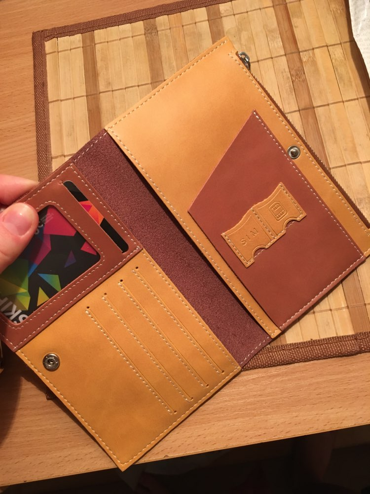Andralyn Driver License Bag Split Leather on Cover for Car Driving Document Card Holder Passport Wallet Bag Certificate Case photo review