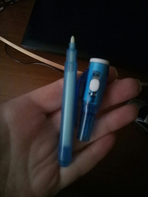 Magic Glow Pen photo review