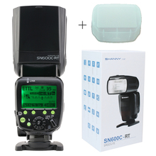 Shanny SN600C RT Wireless Flash Mode TTL Speedlite For Canon DSLR Camera photo flash camera flash