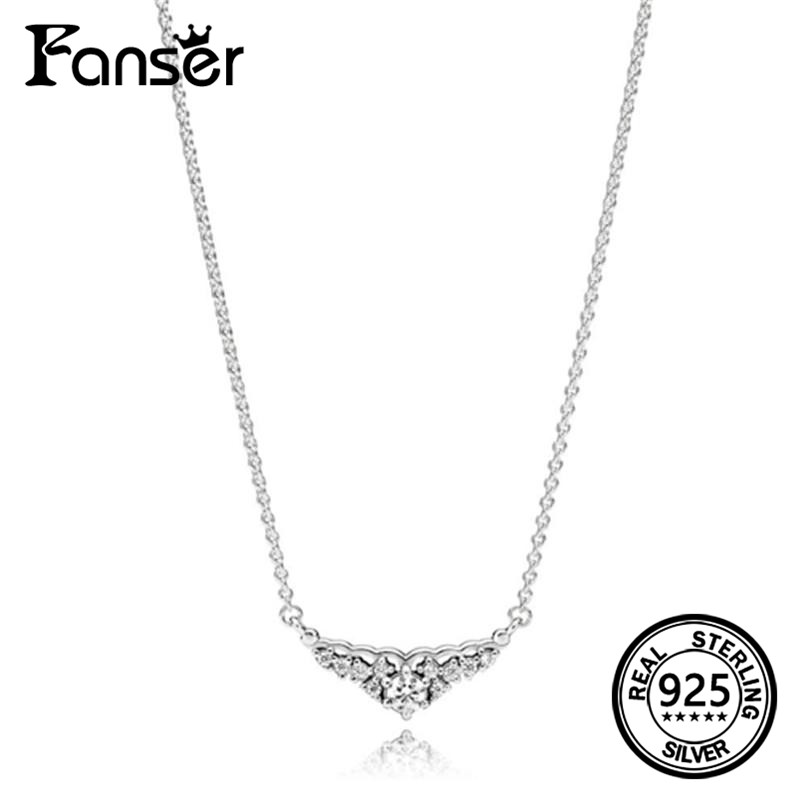 FANSER Tree of Love Necklace Fashion Classic Elegant Has Logo 100% Pure Silver Foundation Chain Factory Wholesale Free Mail