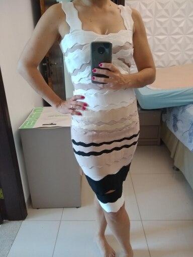 1bfcd8f833d Sexy Bandage Dress Women Summer 2018 New Arrivals Club Party Dresses ...
