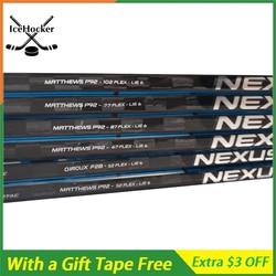 Palo de Hockey sobre hielo de fibra de carbono Serie N 2 con cinta libre con agarre SR/INT/JR P92 p88 P28 luz peso 420g envío gratis