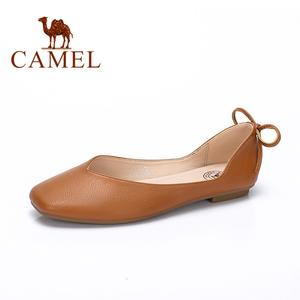 CAMEL 2019 New Spring Casual Shoes Woman Ballet Shallow Single Shoes Ladies Fashion Soft Comfortable Flat Casual Shoes For Women