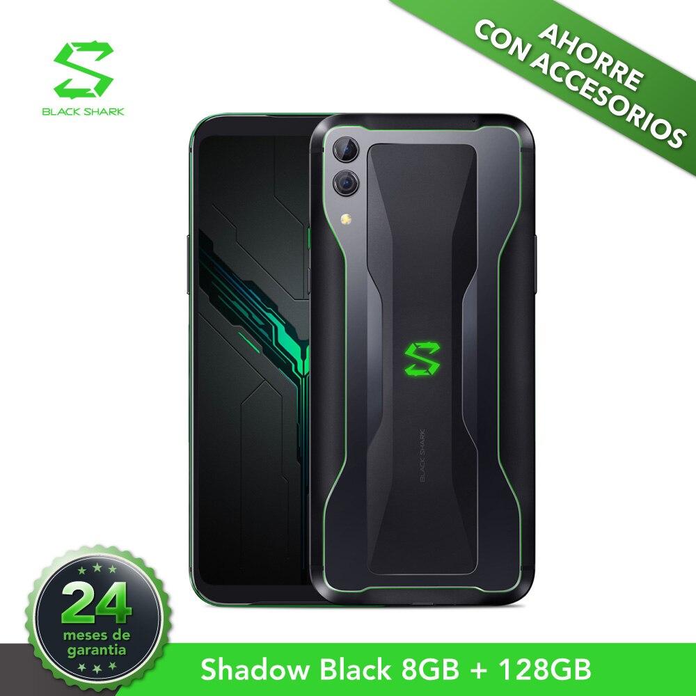 Version EU noir requin 2 8G 128G noir ombre (24 mois de garantie officielle)