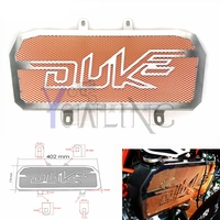 For KTM Duke 200 300 Motorcycle Motorbike Stainless Radiator Bezel Guard Cover Grille Protector Net For