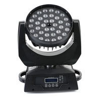 2pcs/lots 36x10W Wash Beam Zoom Moving Head Light professional stage concert event effect light