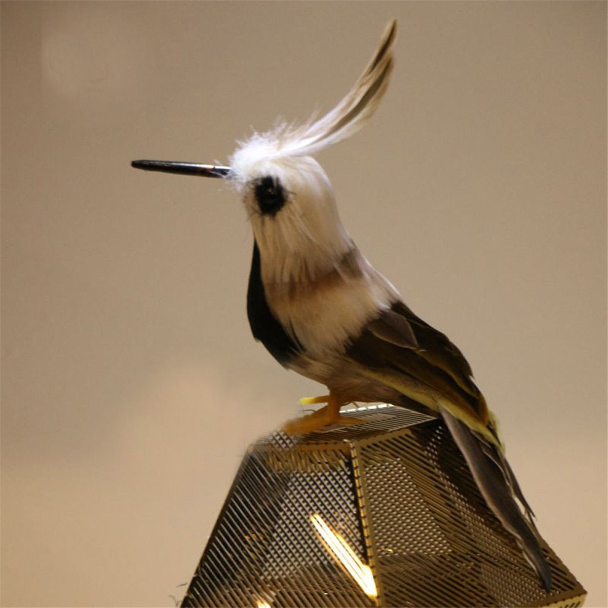 aliexpress com buy artificial colorful animal birds feather