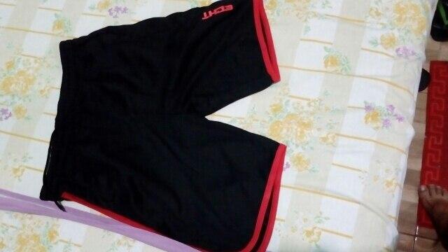Shorts de corrida secagem gitfHomens musculação