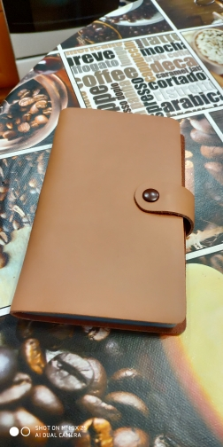Hot Sale 90 Slots Women Men Credit Card Holder Genuine Leather Buckle Large Capacity Business ID Holders Organizer photo review
