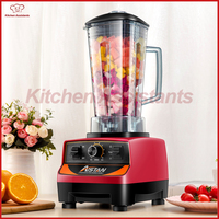 Commercial Powerful Electric Multifunctional Smoothie Ice Juice Fruit Blender With Bpa Free Bottle Bar Mixer Blender