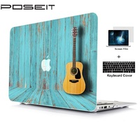 """keyboard plastic case For Apple Macbook Air 11 13 Pro Retina 12 13 Touch Bar 13 15"""" Plastic Hard Case Cover Laptop Shell+Keyboard Cover+Screen Film (5)"""