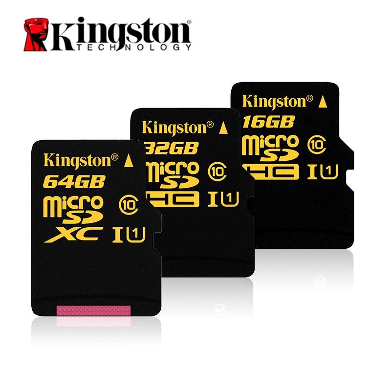 Kingston карту флэш-памяти с интерфейсом USB цифровой 16 ГБ 32 ГБ 64 ГБ CL10 UHS-я 90r/4 ...