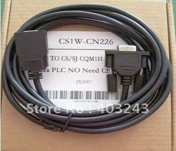 Cs1w-cn226 Pc-cn226 Cs1w Cn226 Rs232 Adapter Programming Cable For Omron Cs / Cj, Cqm1h And Cpm 2c Plc