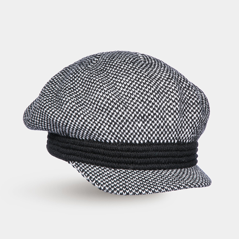 [Available from 10.11]Hat Newsboy hat Canoe3450751 summer chic letter applique embellished retro newsboy hat for women
