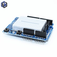 Smart Electronics UNO Proto Shield prototype expansion board with SYB-170 mini breadboard based For   UNO ProtoShield DIY