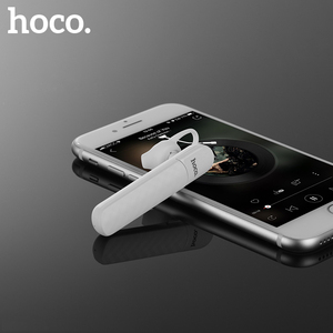 Image 2 - HOCO Bluetooth Earphone with Microphone Handsfree for Drive Wireless Headset Noise Canceling for iPhone X 8 Samsung S9 Xiaomi