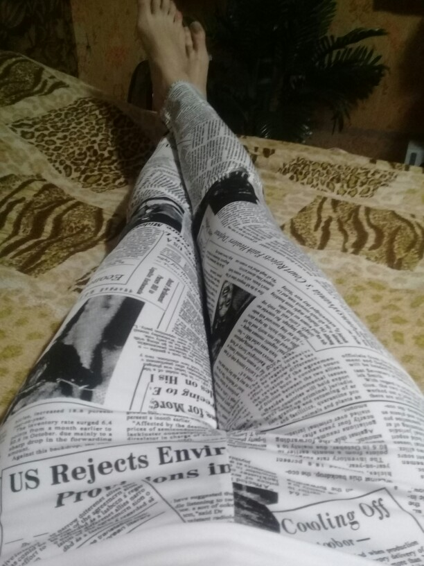 Press | Printed Leggings photo review