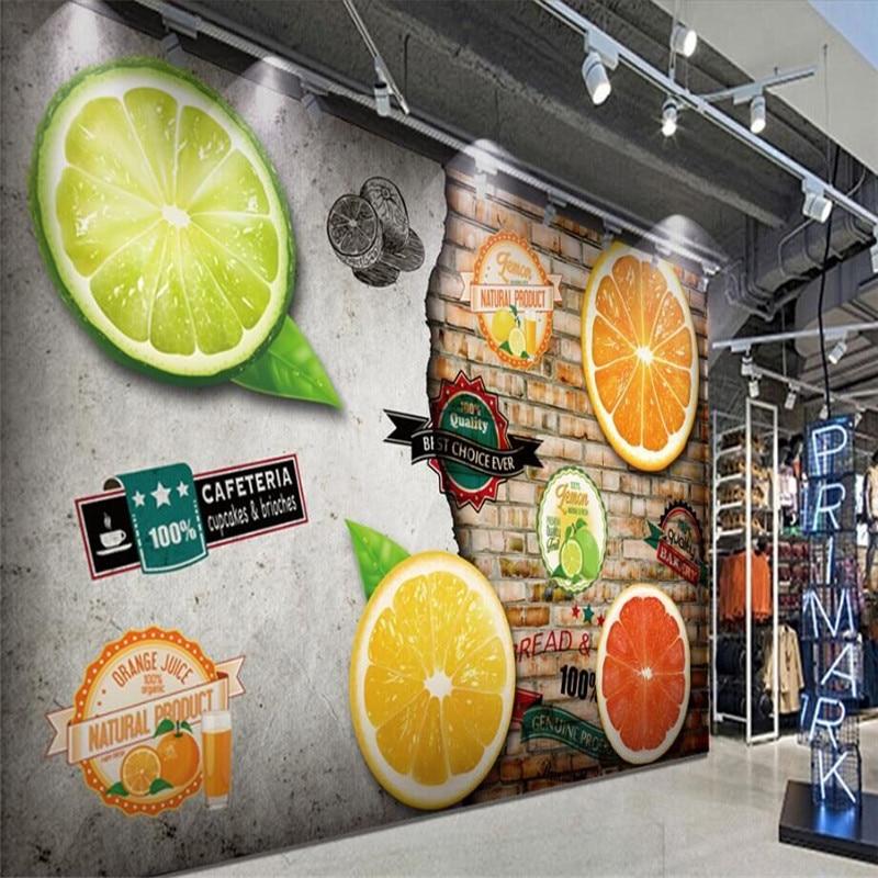 Ретро винные погреба бар отеля стены Professional производства росписи обоев на заказ фото