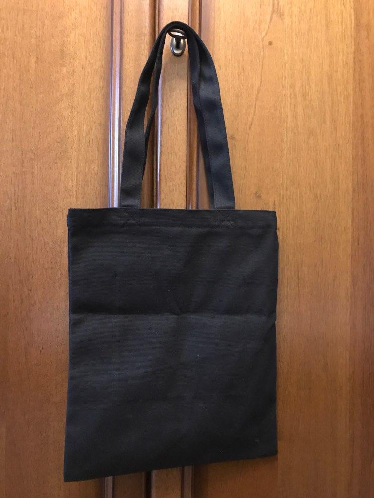 Reusable Shopping Bag 2019 New Handbag Female Casual Korean Large Capacity Shoulder Solid Color Canvas Fabric Tote Bag Schoolbag photo review