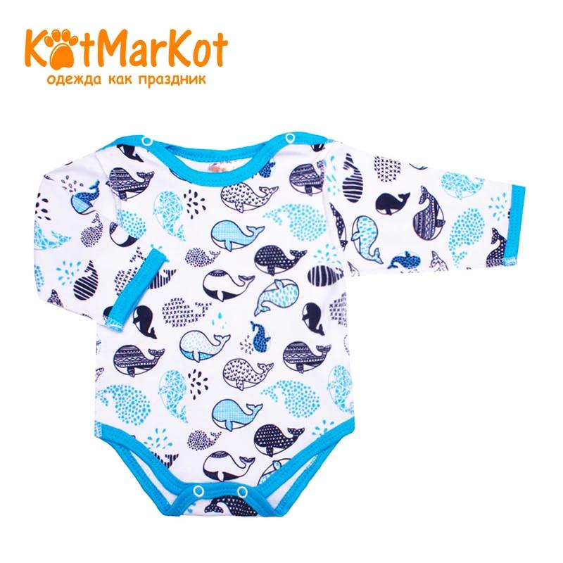 Bodysuit Kotmarkot 9256 children clothing cotton for baby boys kid clothes bodysuit baby