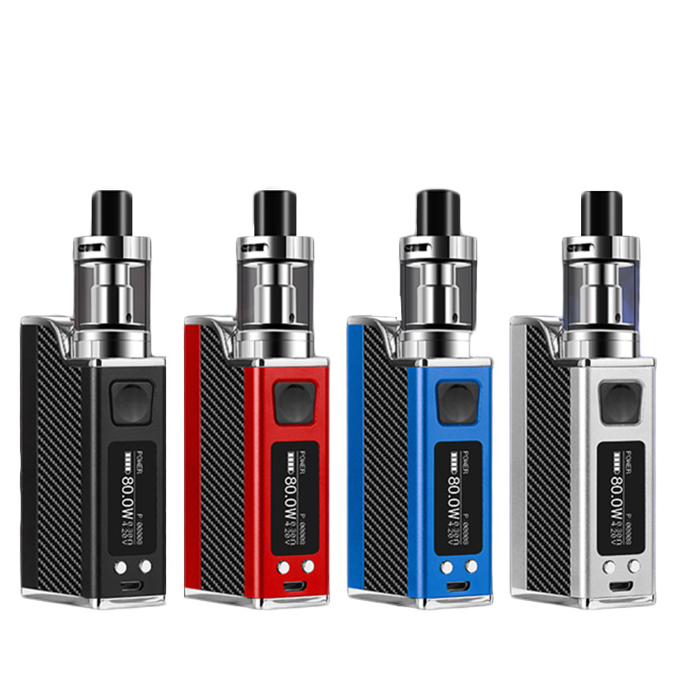 2018 Electronic Cigarette Box Mod 80W with Built-in 1500mAh Battery 9.1inch screen Tank Vape Updated from E-Cigarettes